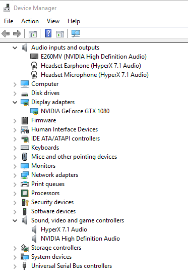 Nvidia High Defonition Audio not Detecting - Audio - Linus