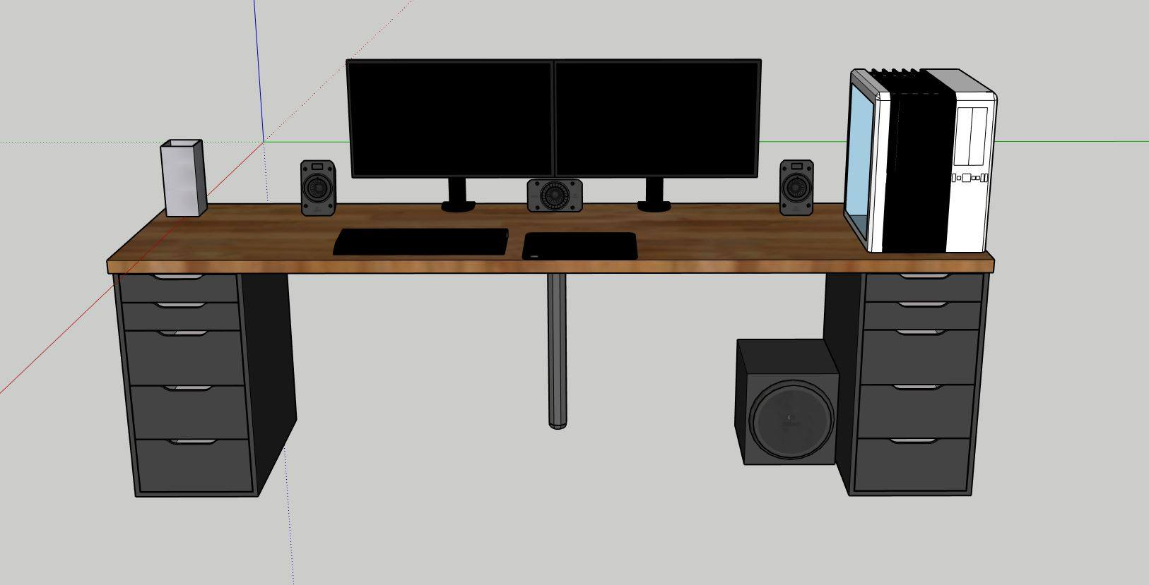 New desk setup - New Builds and Planning - Linus Tech Tips