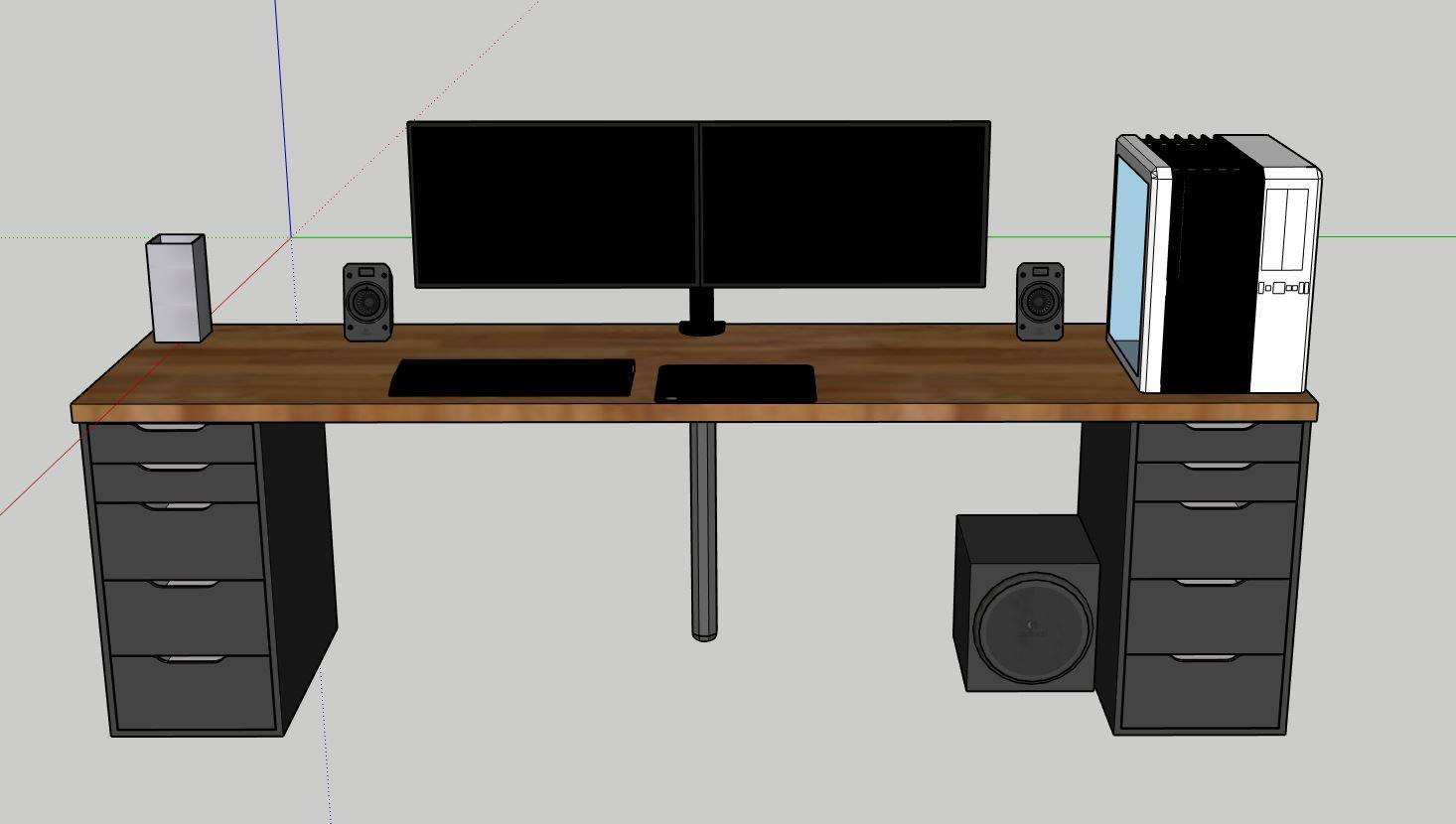 New Desk Setup New Builds And Planning Linus Tech Tips