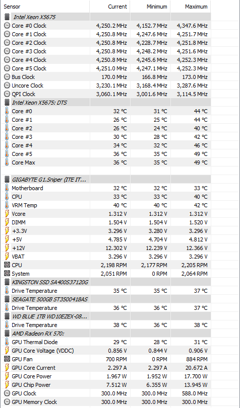X5675 Overclock Settings - CPUs, Motherboards, and Memory