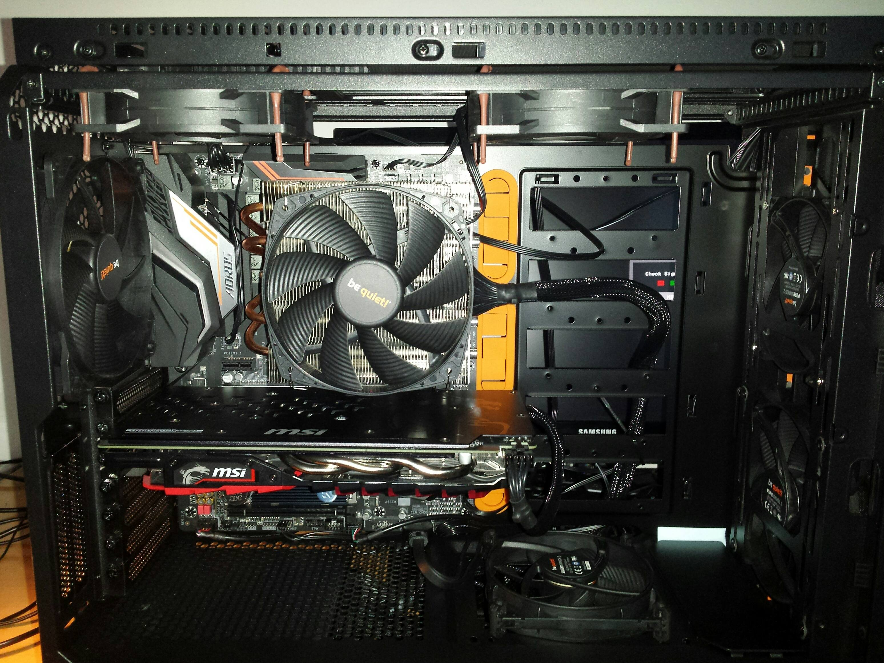 Is be be quiet! Shadow Rock 2 enough for i7-9700k? - Page 2
