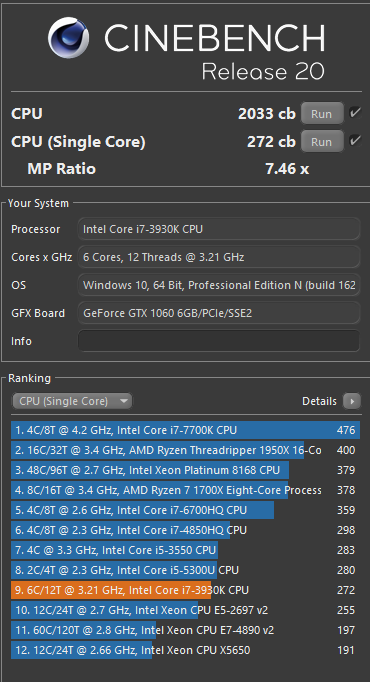 Cinebench R20 released - Page 5 - Tech News - Linus Tech Tips