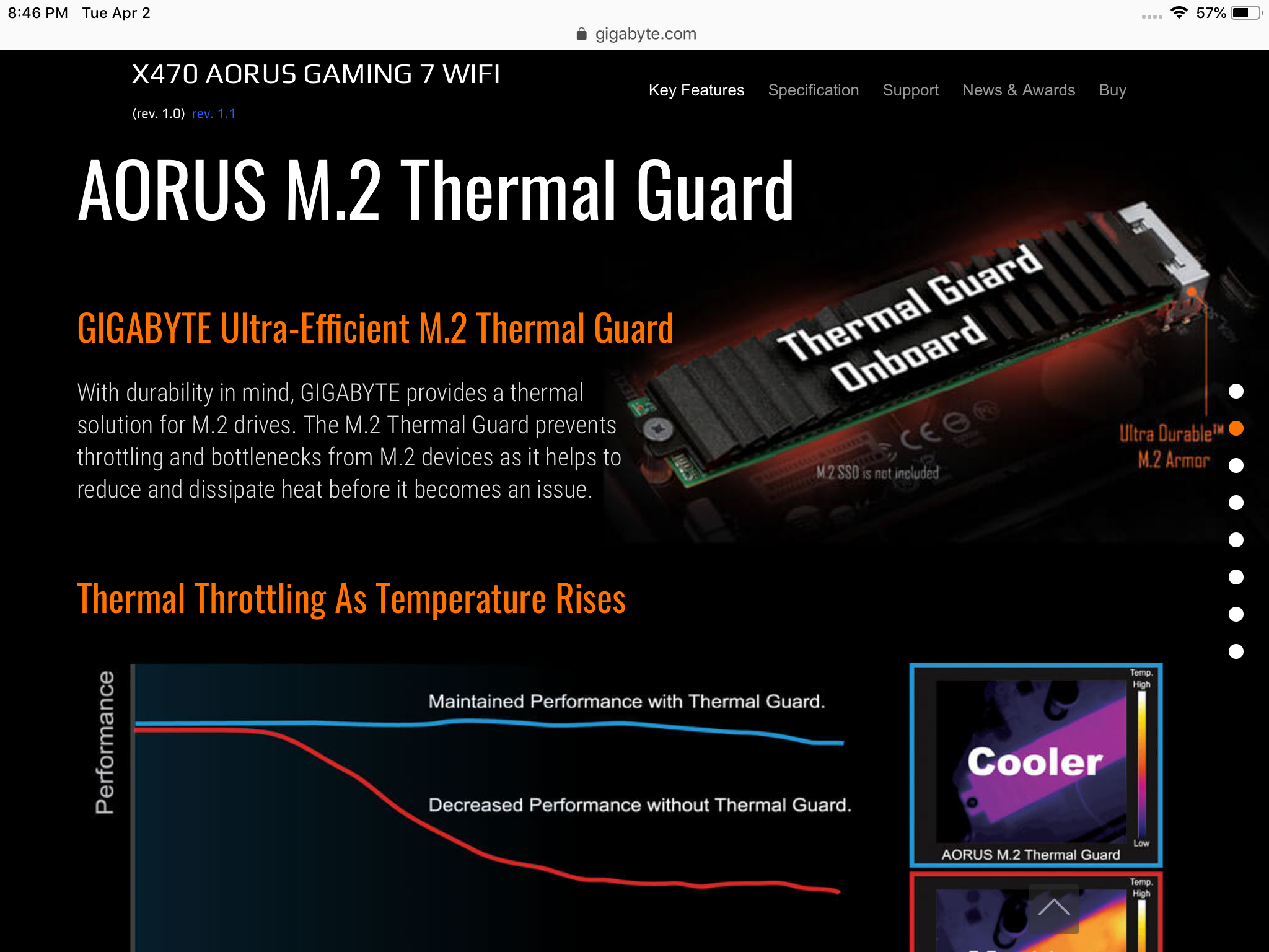 Where do I install my M 2 on X470 Aorus MOBO - CPUs