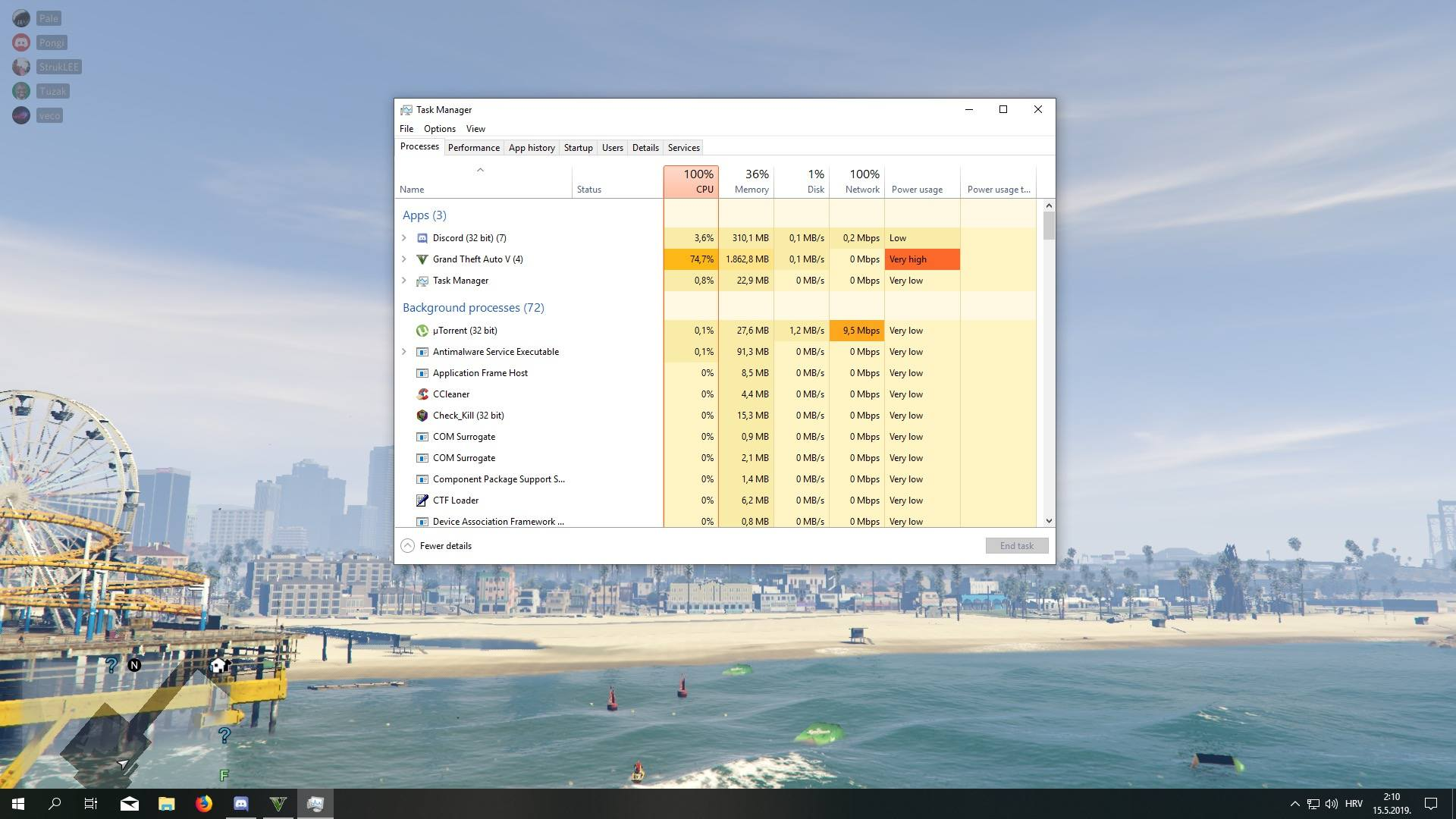 100% CPU usage when gaming (i5 8400) - CPUs, Motherboards