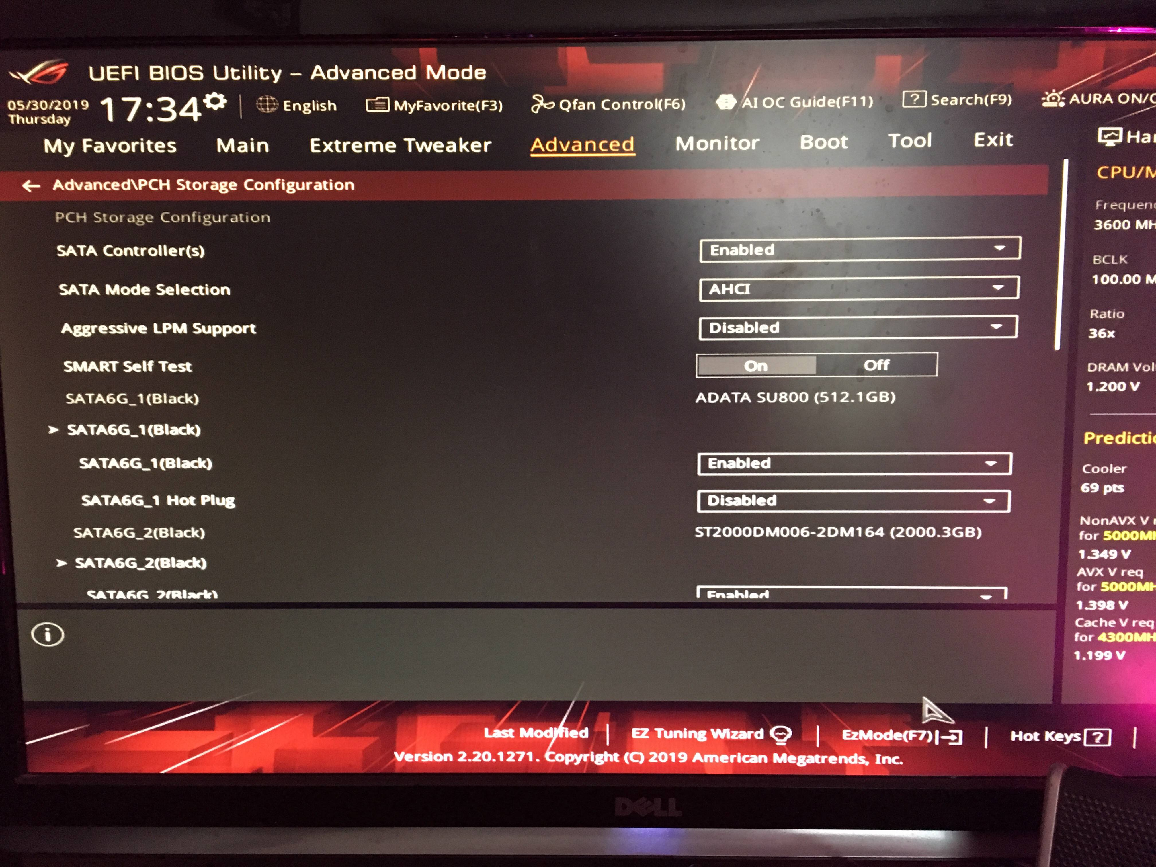 Asus ROG Maximus XI hero WiFi board gives me post code A9