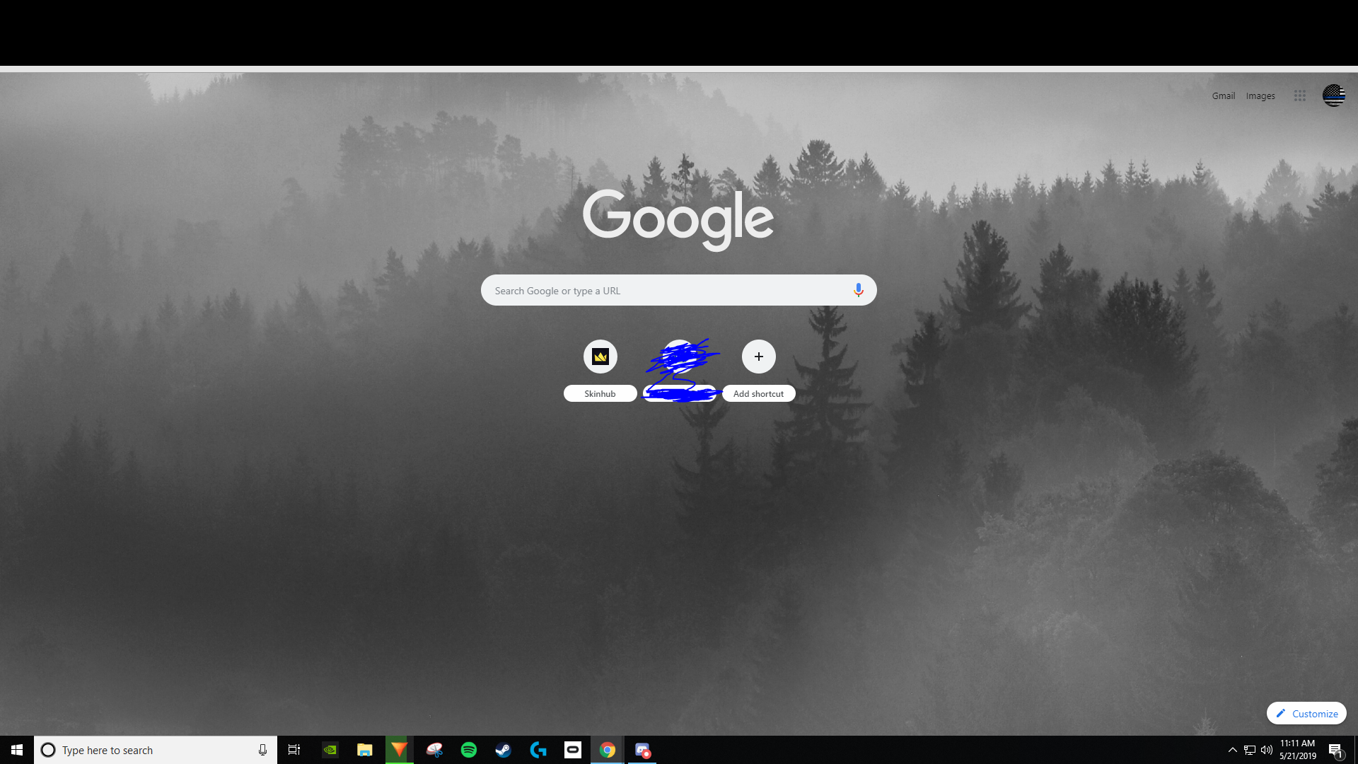 Bar At The Top Of Google Chrome Programs Apps And Websites