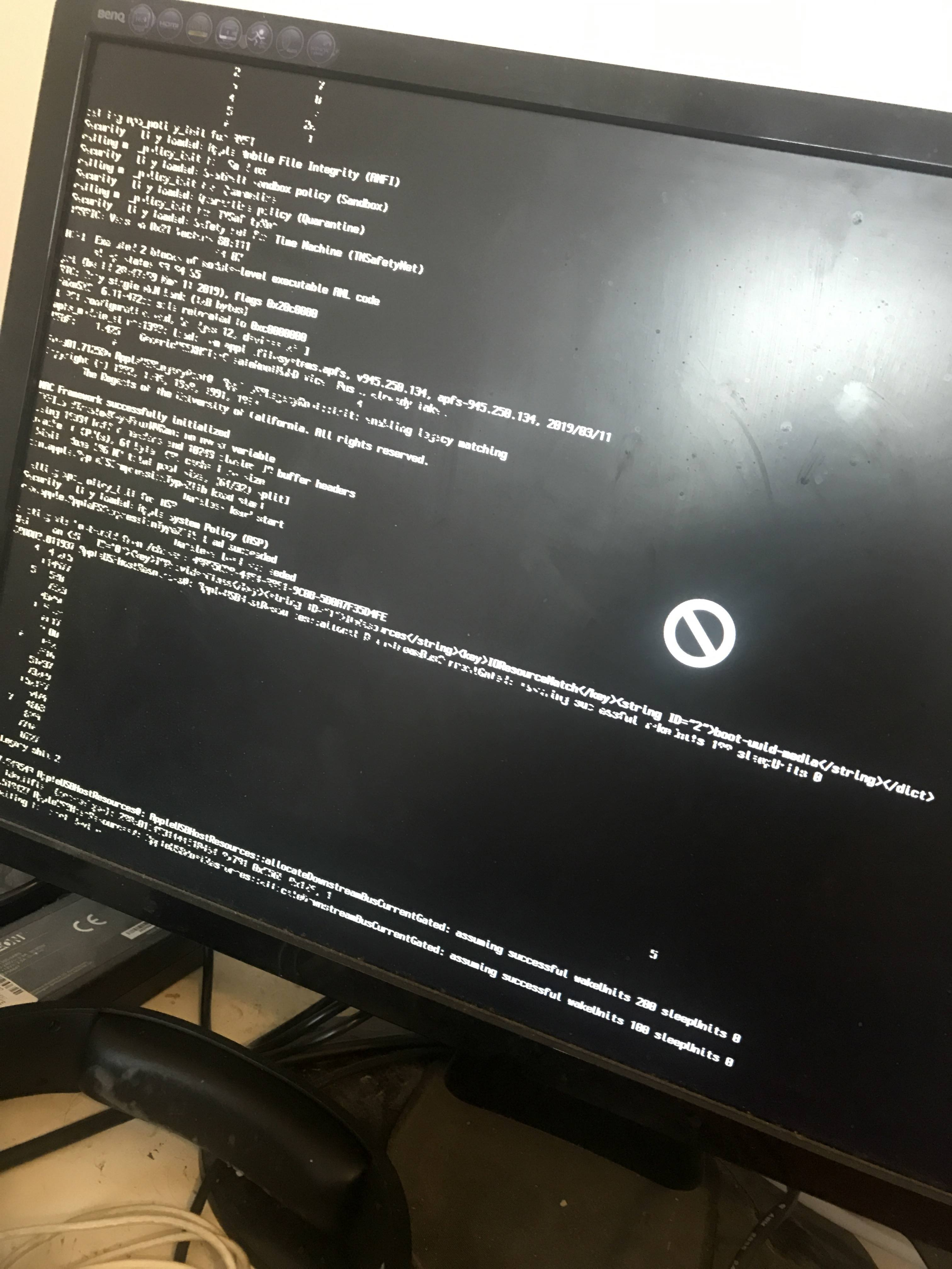 Hackintosh Mojave Install Hangs Up With 2 Minutes Left