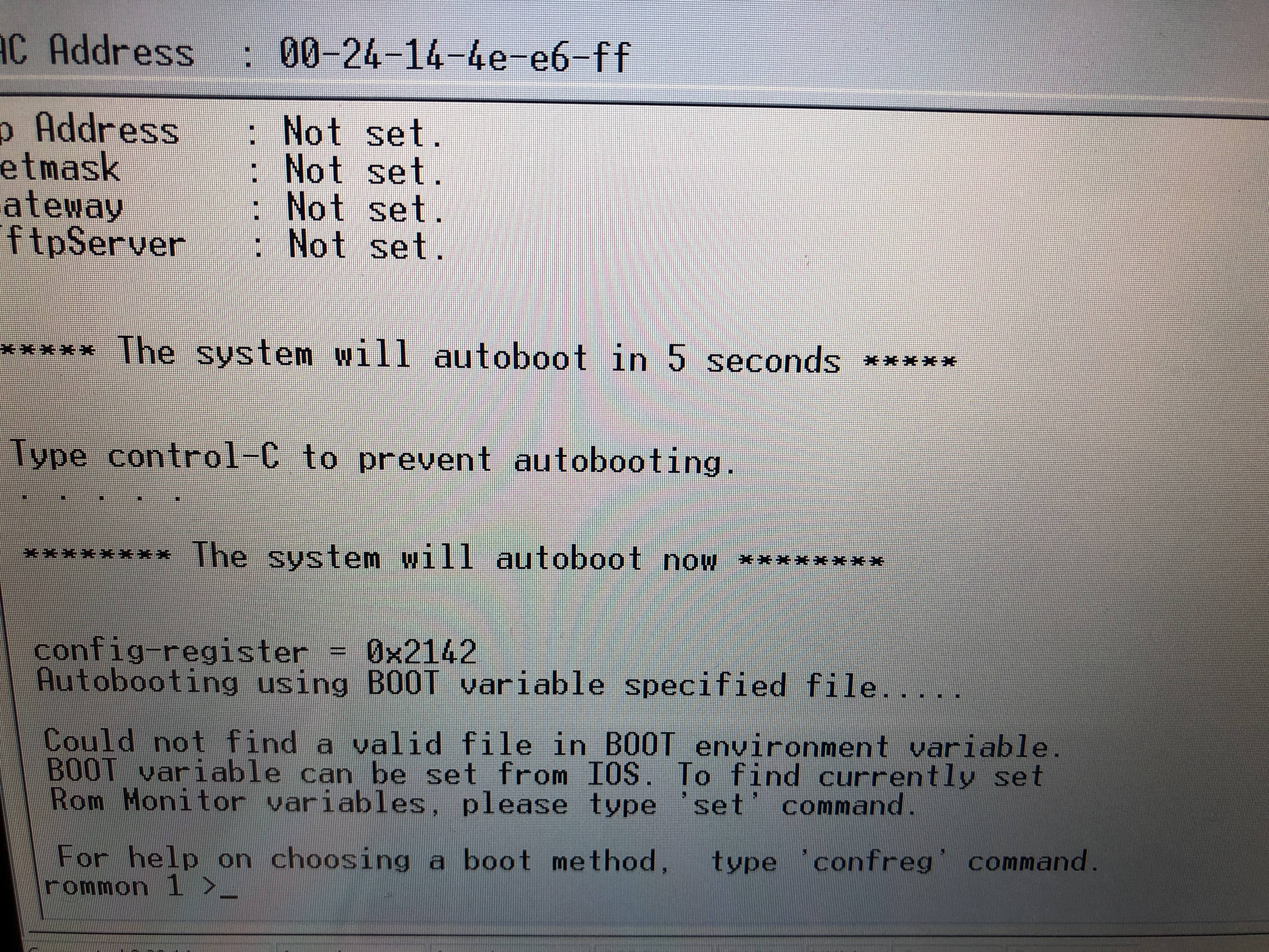 Help with Cisco Catalyst 4948 10GE - Networking - Linus Tech