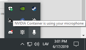Nvidia container using microphone - Graphics Cards - Linus
