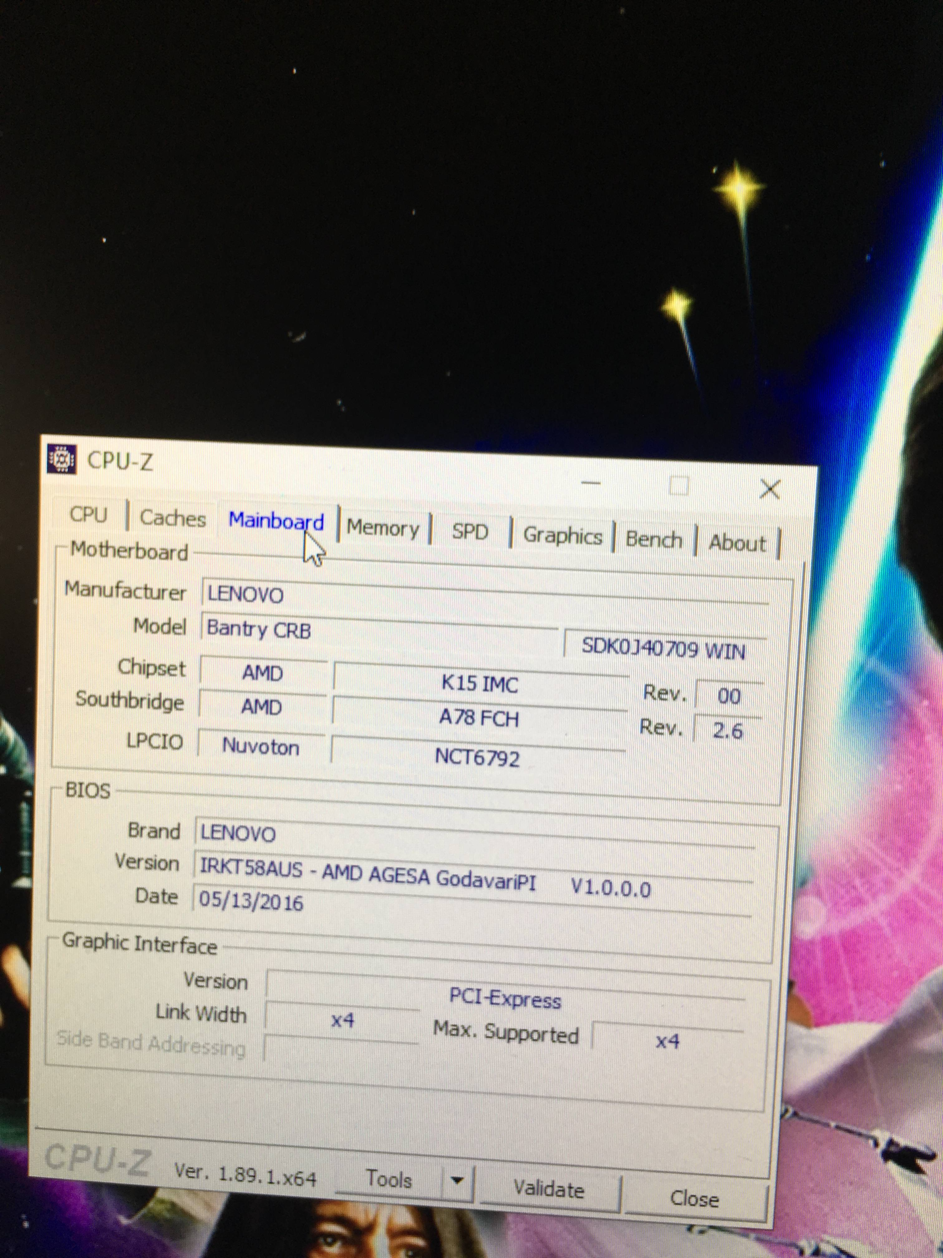 Will a AMD Ryzen 3 work with a lenovo bantry crb motherboard