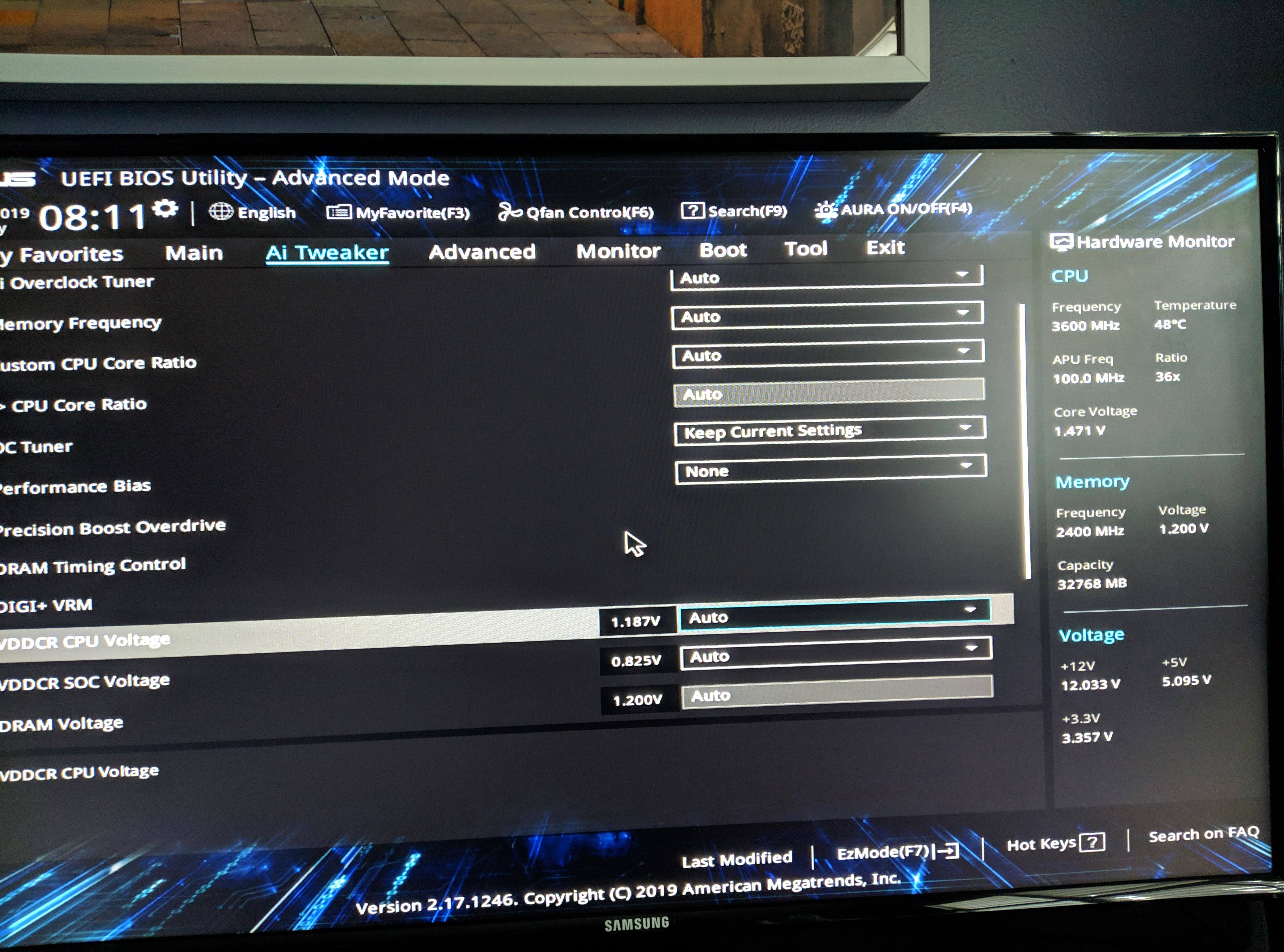 ryzen 2600x vcore voltage high - CPUs, Motherboards, and Memory