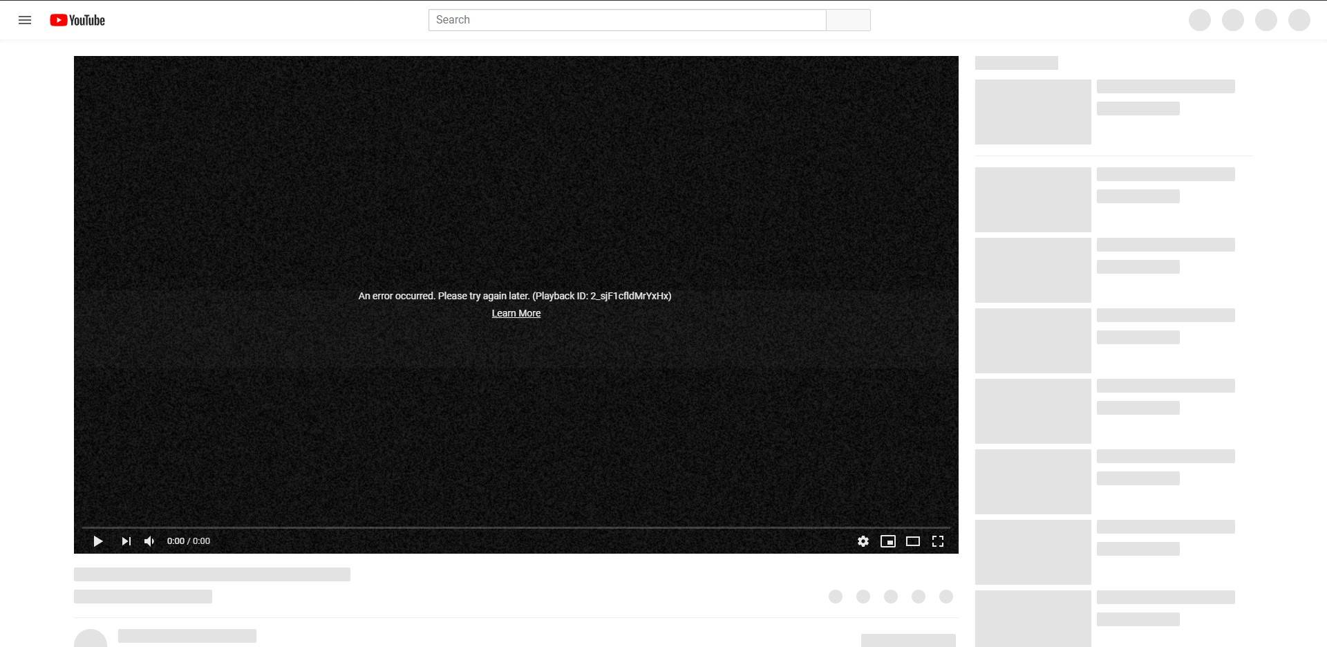 Youtube videos not playing in Chrome - Programs, Apps and Websites