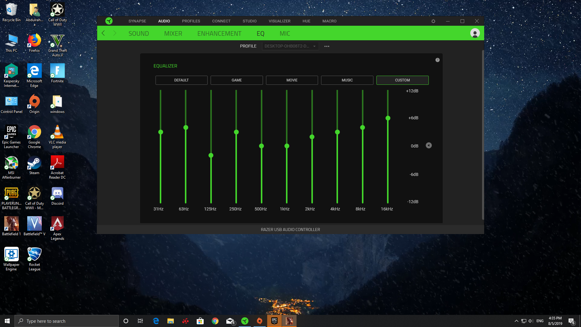 Whats Best Eq Setting For My Razer Te Headset Edit Btw I Still Need Help Audio Linus Tech Tips