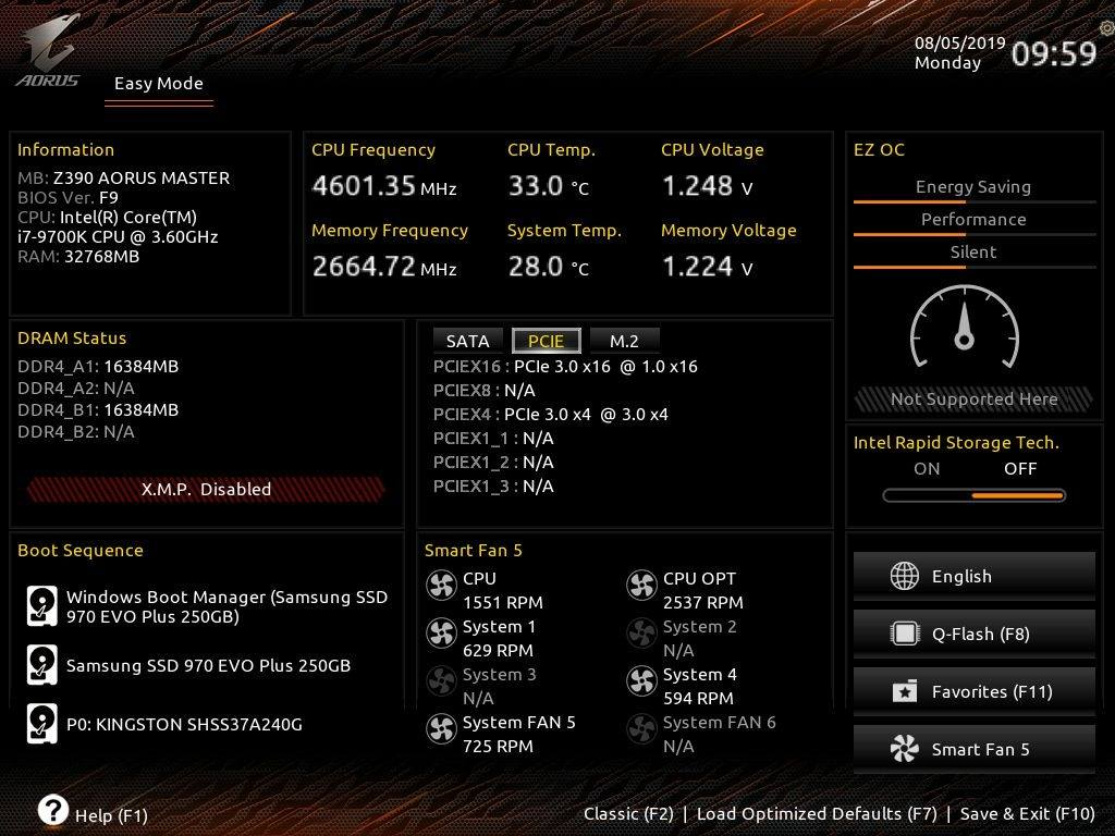 Is my graphics card running at PCIe 1 0 x16? - Graphics