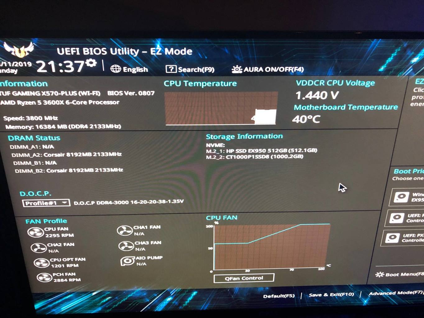 AMD Ryzen 5 3600x Very High Temps (New System Build) - CPUs