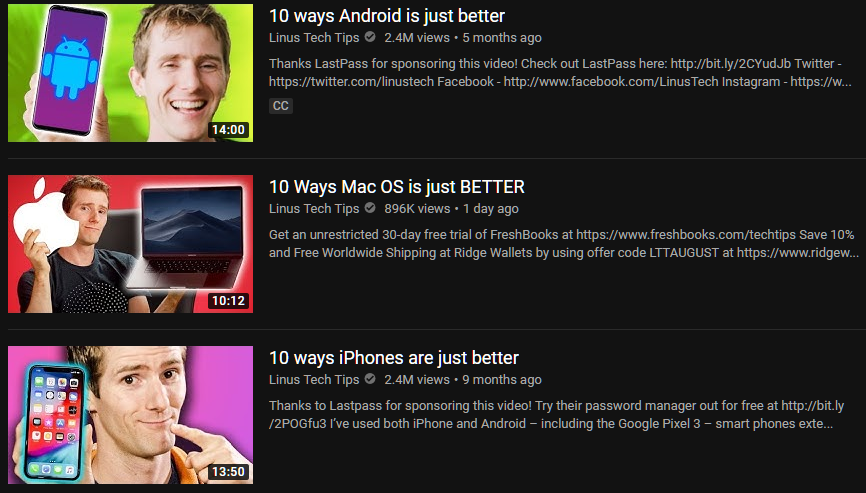 The worst video ever made by LinusTechTips, why the MacOS video is