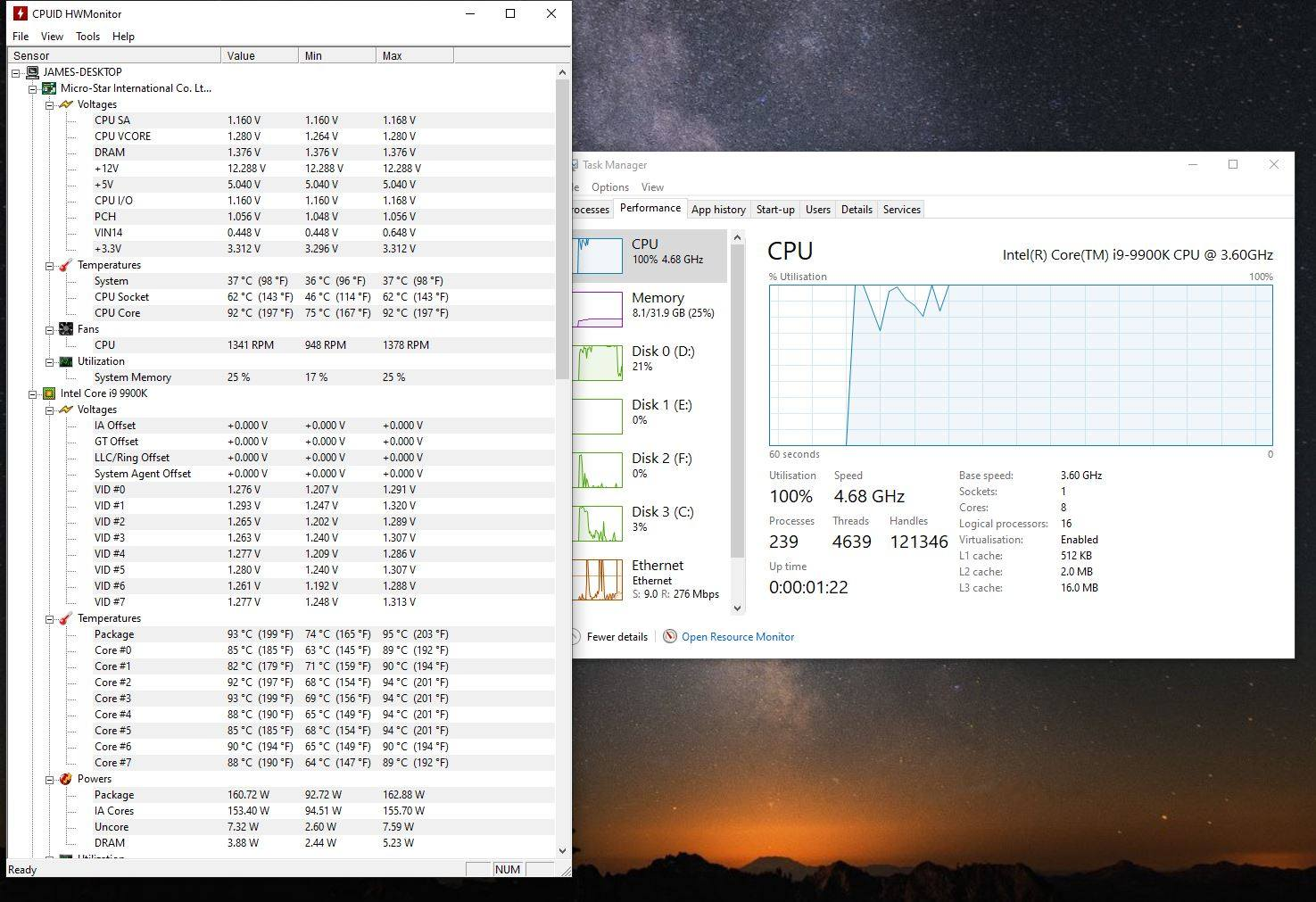 High i9-9900k temps - CPUs, Motherboards, and Memory - Linus