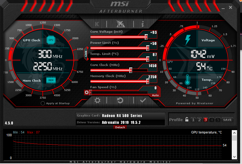 RX580 OC'ed to 1450Mhz - Graphics Cards - Linus Tech Tips