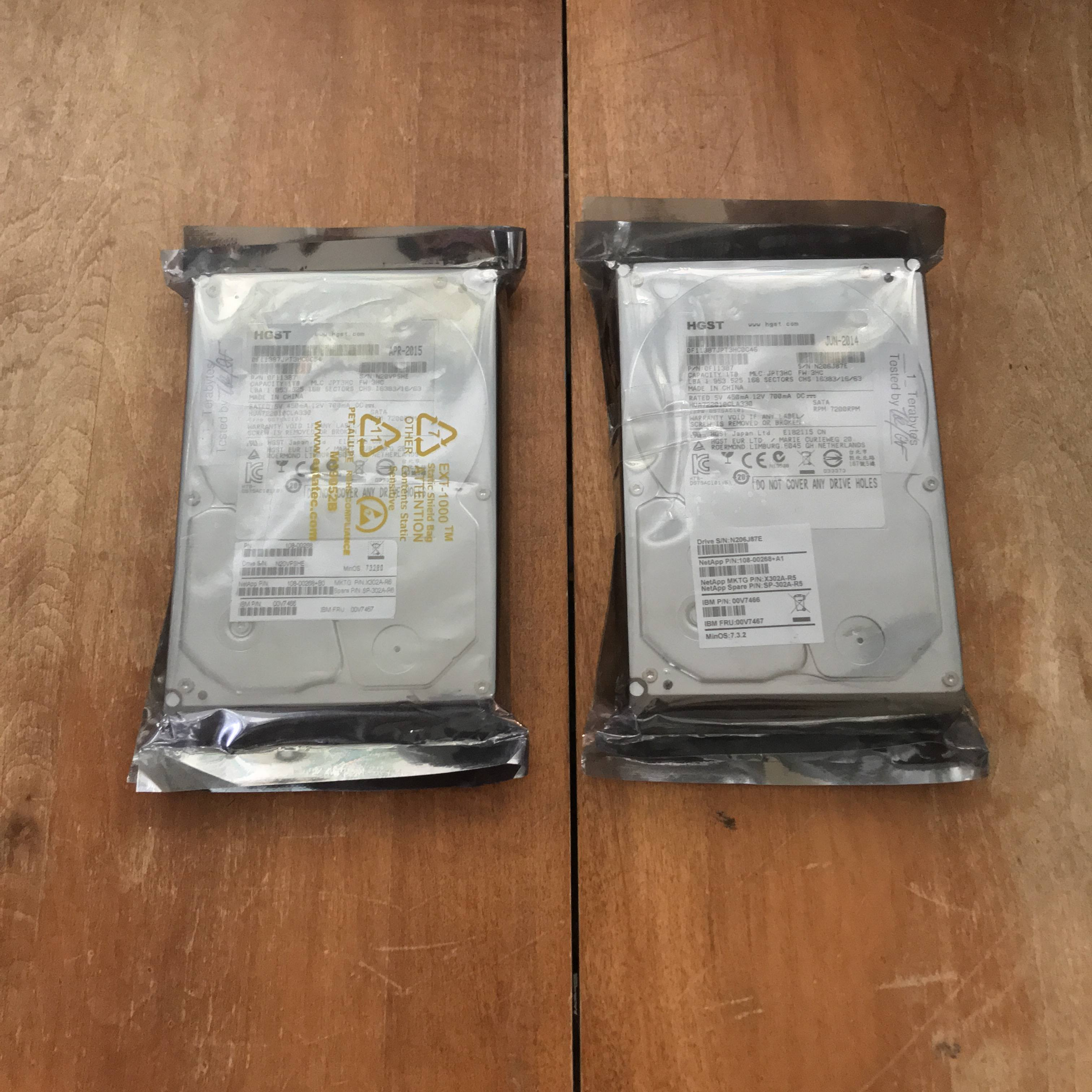 Online Find: Two 1TB Hard Drives