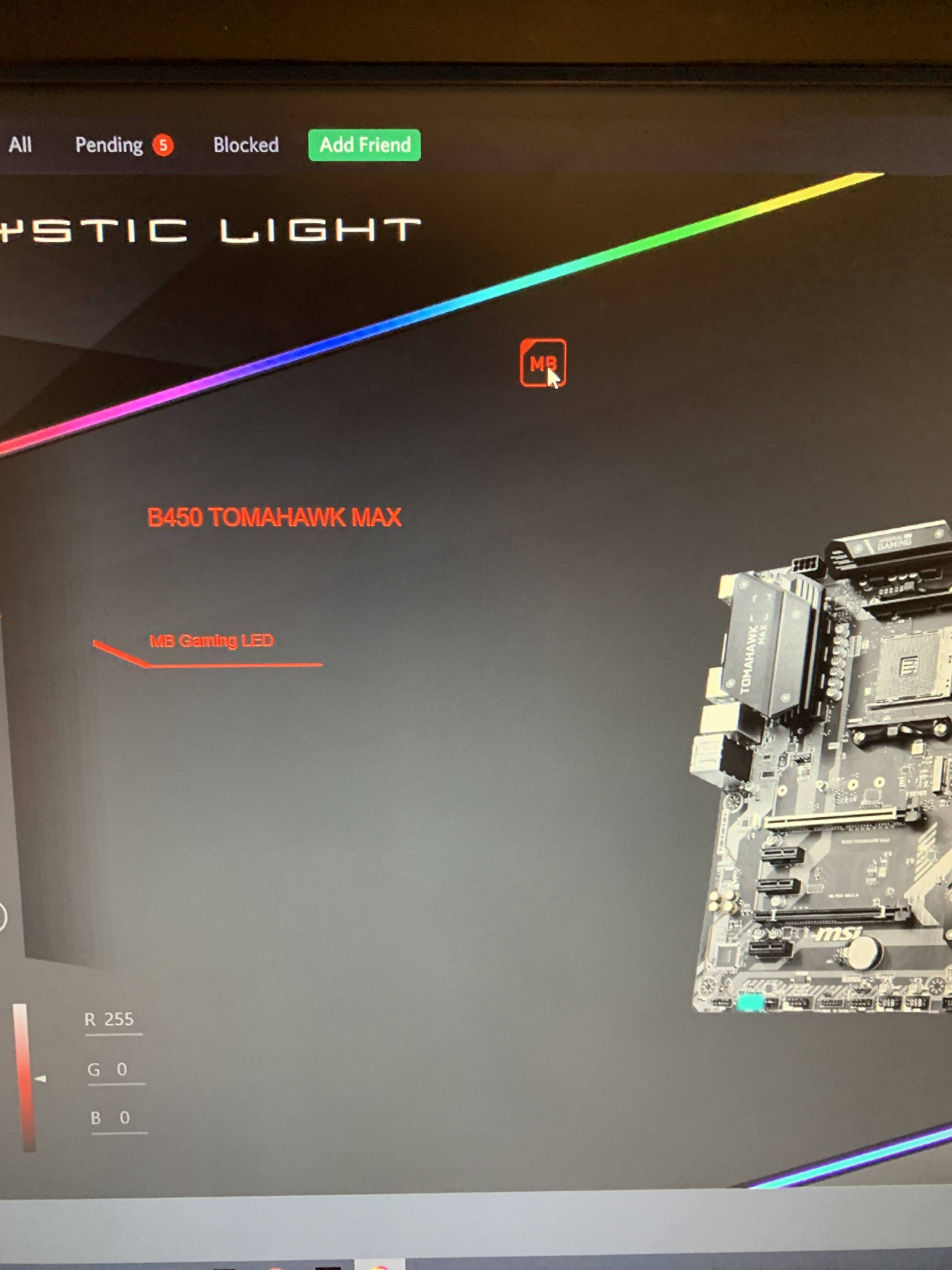 Msi Mystic Light Need Help Troubleshooting Linus Tech Tips Must i use both icue/link and msi mystic lighting software to control the rgb led lighting. msi mystic light need help