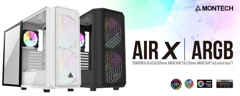 Montech's High Performance Air X ARGB PC Case Now Available ...