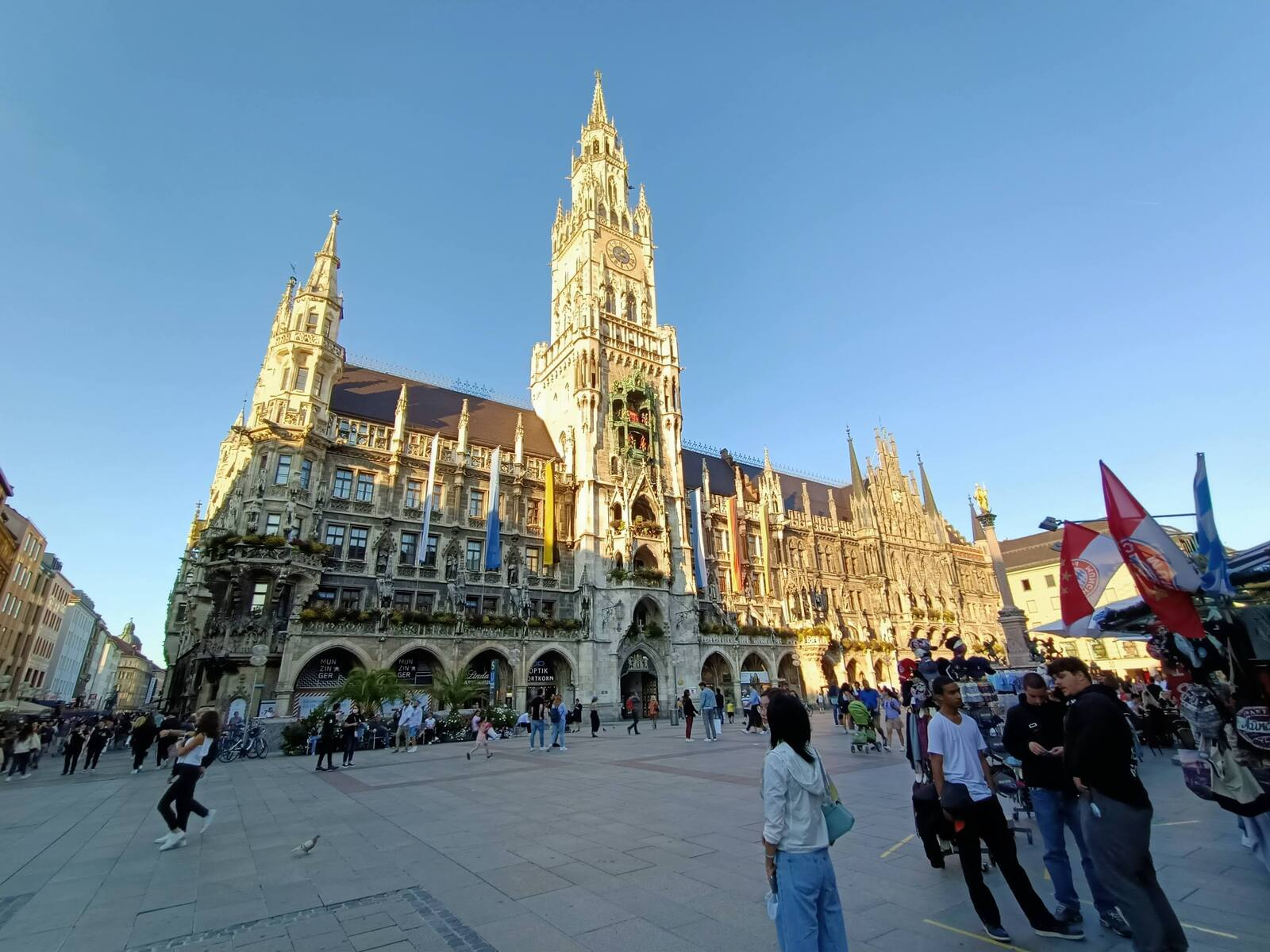 Some Cathedral we walked past in Old Town Munich