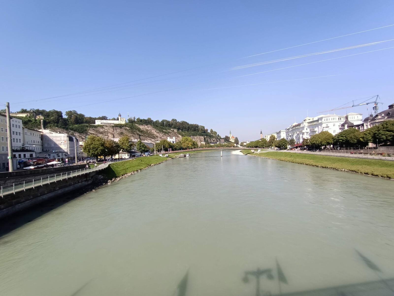 A look up the Salzach river